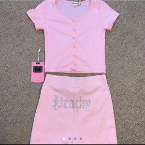 ❌sold❌Meshki Molly Peachy shorts